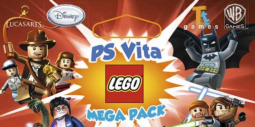 PS Vita LEGO 8 GB Memory Mega Pack