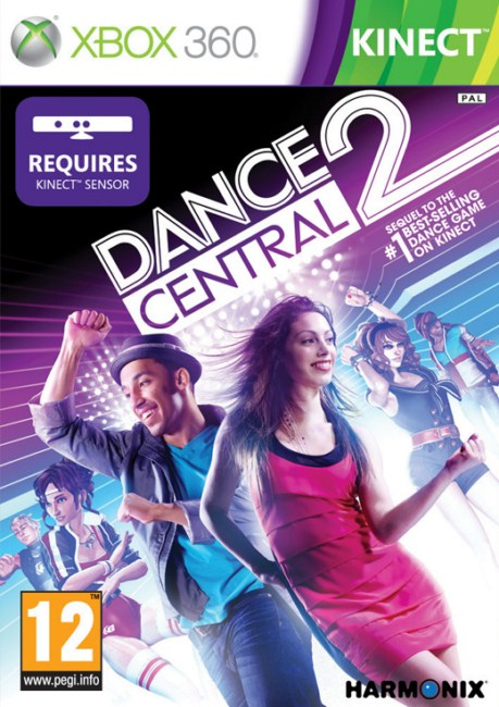 XBOX360_250GB_Kinect_gra_Adventures_Dance_Central_2