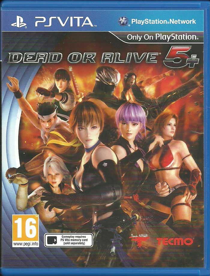 Dead or Alive 5 Plus PS Vita