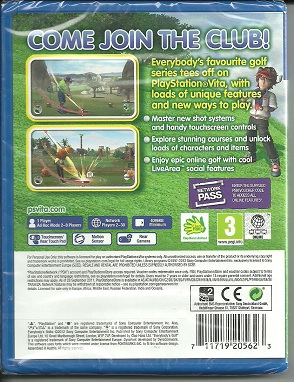 Everybogy's golf PS Vita