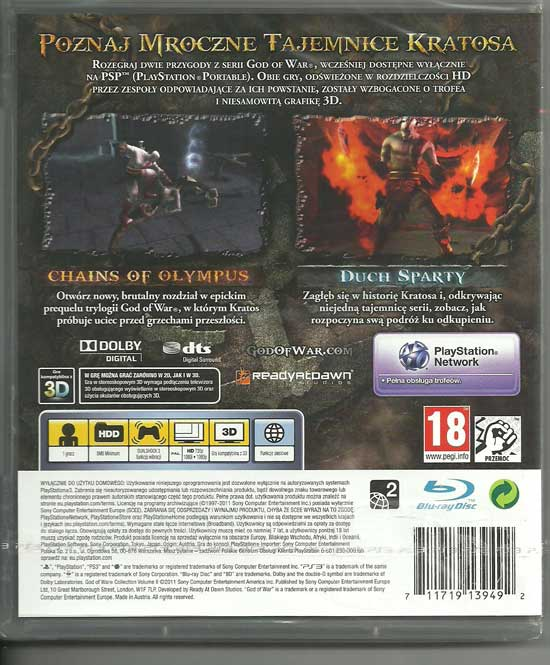 god_of_war_collection_volume_II_pl_back