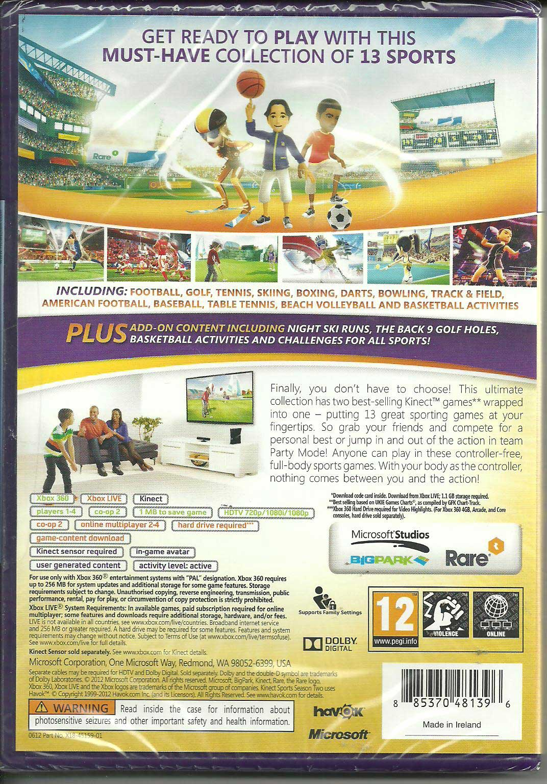 Kinect Sports Ultimate Edition