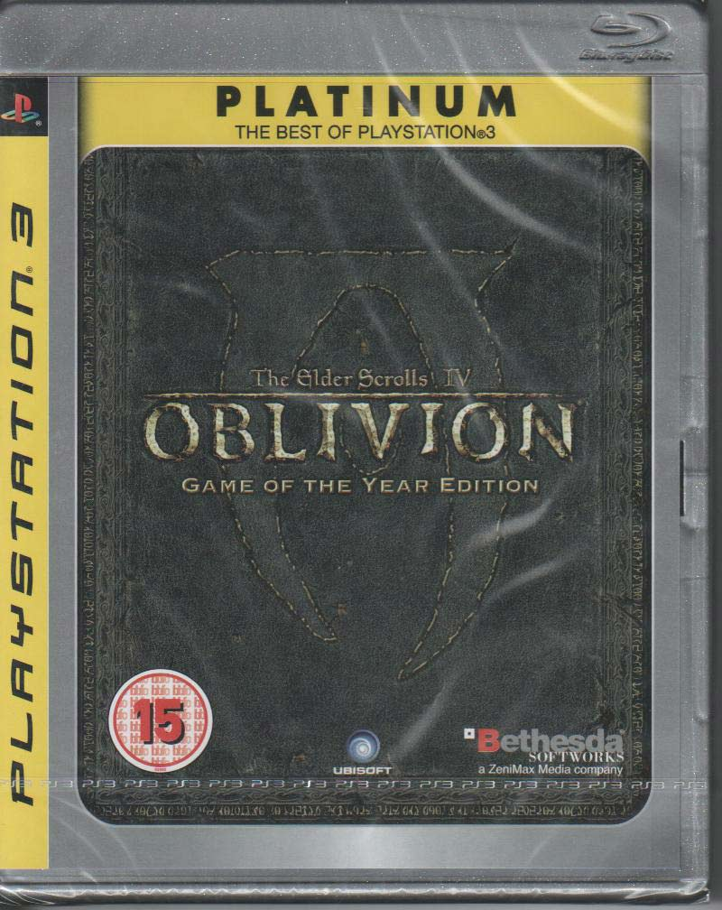 The Elder of Scrolls IV Oblivion Game of The Year platinum ps3 front sklep: najtańsze gry na konsole PS3