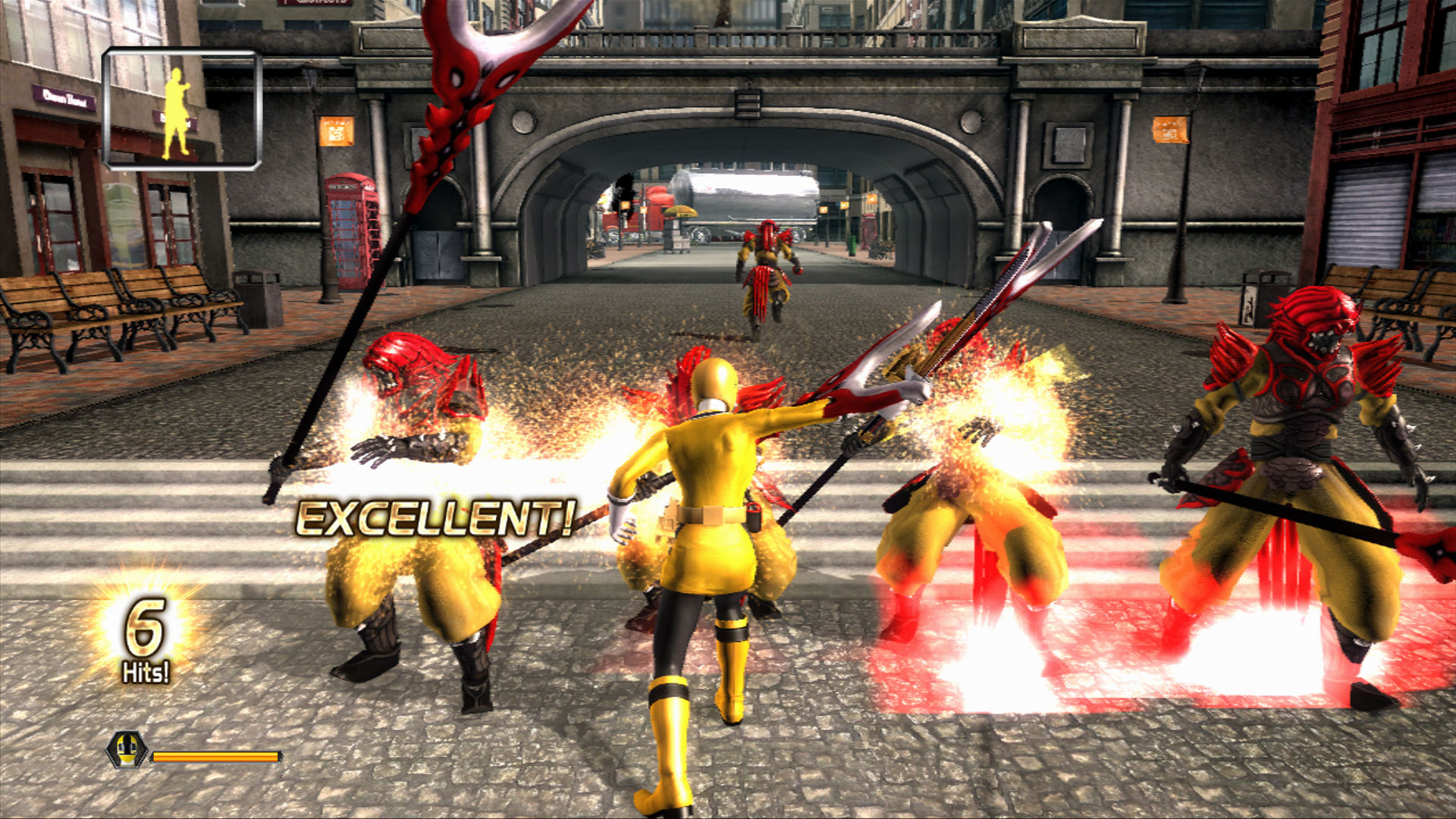 Power Rangers Super Samurai for Kinect