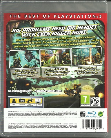 Ratchet & Clank Tools of Destruction Essentials PS3