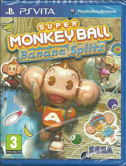 Monkey Ball Banana Splitz PS Vita