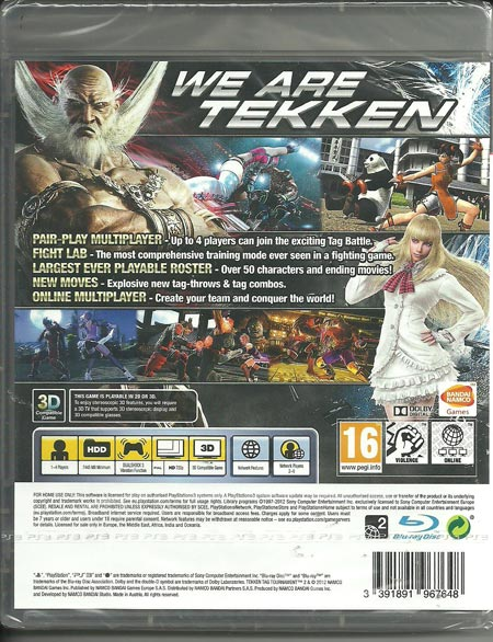 Tekken Tag Tournament 2-for-ps3
