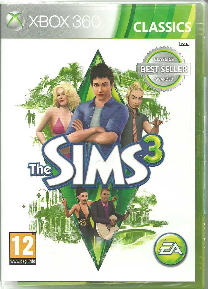 The Sims 3 PL XBOX 360