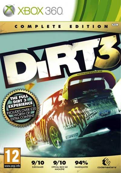 Colin mcrae dirt complete edition xbox 360.