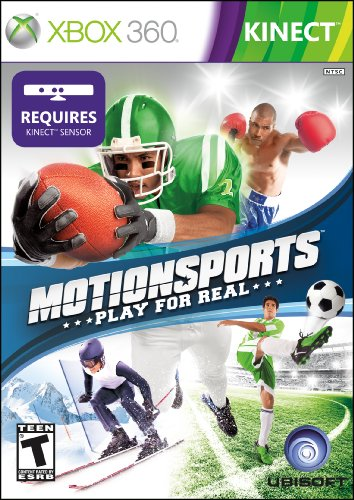 Motion Sports Play for Real KINECT XBOX 360