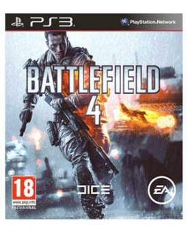 Okładka Battlefield 4 na Playstation 3