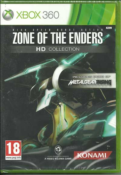 Zone of The Enders HD Collection + Metal Gear Rising Venagance XBOX 360 najtańsze gry na konsole